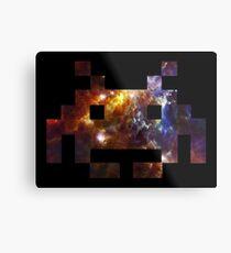 Space Invaders Metal Print