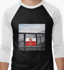 Authorised Personnel Only Men's Baseball ¾ T-Shirt