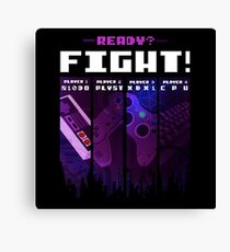 Ready? - Fight! Canvas Print
