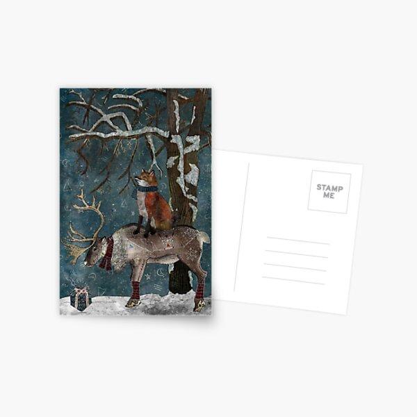 Winter Tale Postcard