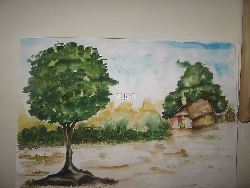 town Size 29x42 cm  by ayan