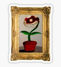 Piranha Plant Sticker