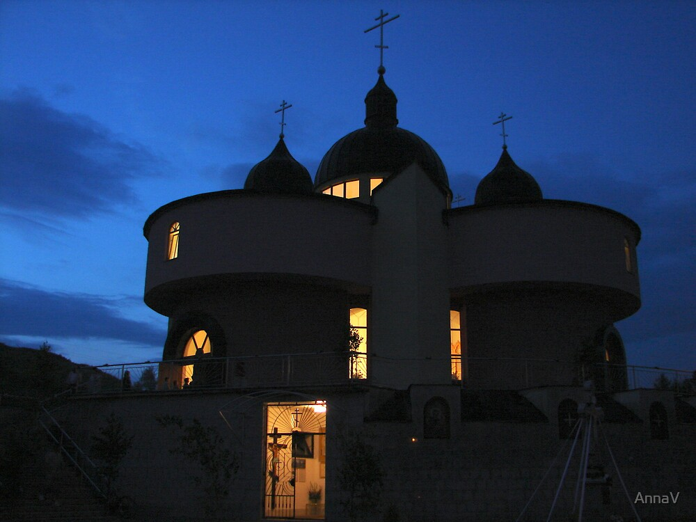 Orthodox church. Bardejov, Slovakia by AnnaV