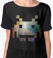 Space Invaders Chiffon Top