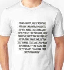 Aja/ Valentina- Linda Evangelista Unisex T-Shirt