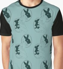 Bunny Shadow Puppet Graphic T-Shirt