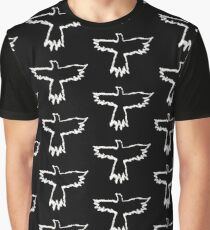 The Crow - Flames Graphic T-Shirt