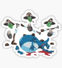 Globox hunters - Rayman Sticker