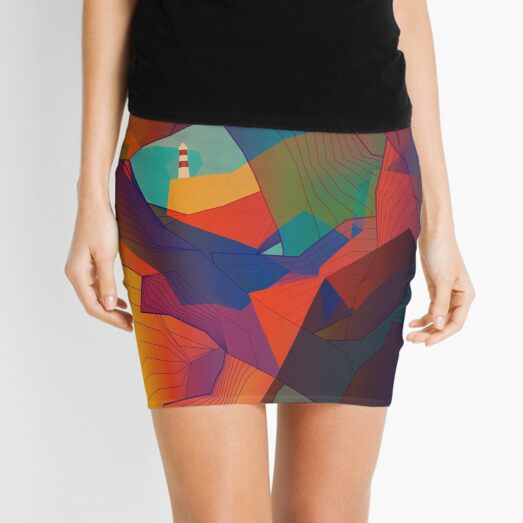 The Rocks by the Lighthouse Mini Skirt