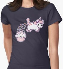 Sprinkle Poo Womens Fitted T-Shirt