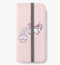 Sprinkle Poo iPhone Flip-Case/Hülle/Klebefolie