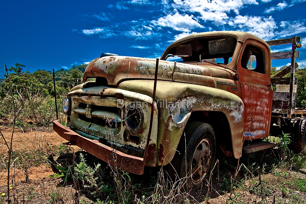 Not another rusty truck shot!! by Bryan Villamin