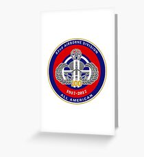 100 Years All American Greeting Card