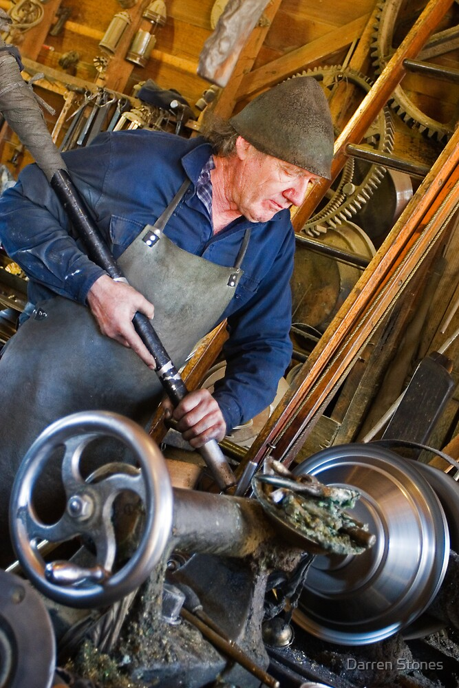 Metalworker at Sovereign Hill by Darren Stones
