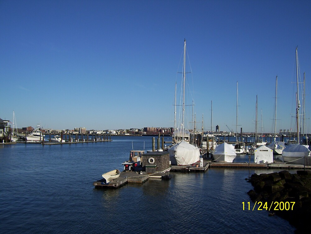 Boston Harbor by mreedy78