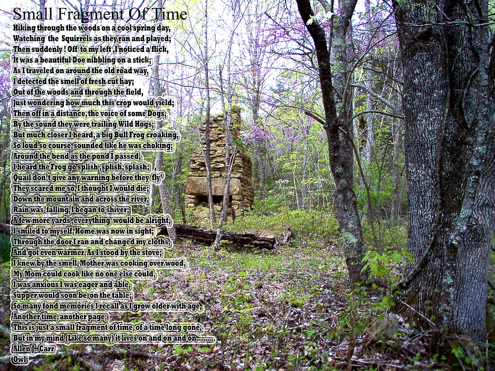 Small Fragment Of Time by Allen Carr