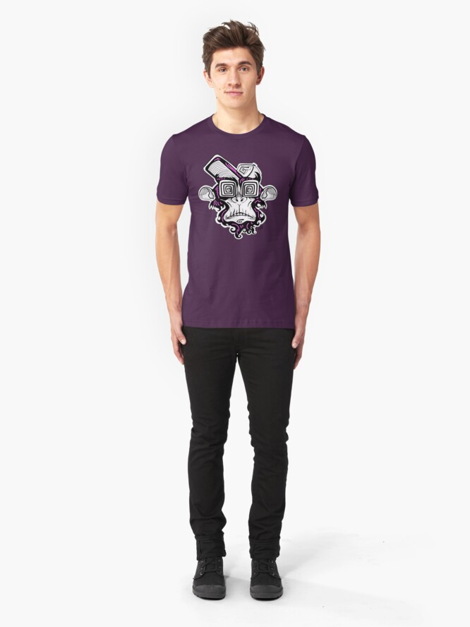 Alternate view of monkey Slim Fit T-Shirt