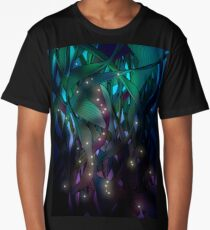 Nocturne (with Fireflies) Long T-Shirt