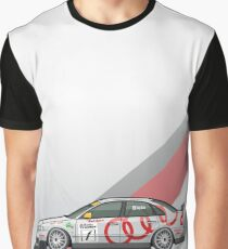 Four Rings A4 Quattro B5 Super Touring Graphic T-Shirt