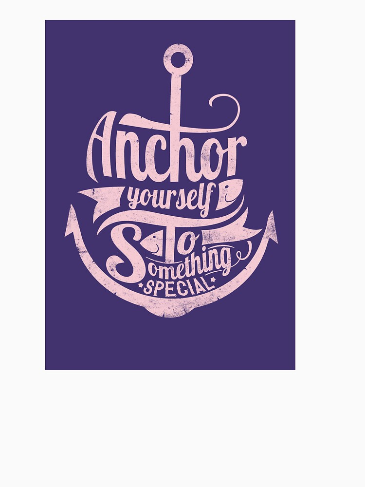 Navy anchor design shirt anchor yourself to something special by aybsonjunior