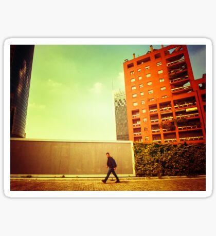 City walk Sticker