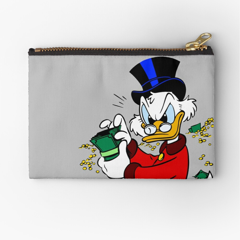 Scrooge McDuck Zipper Pouch