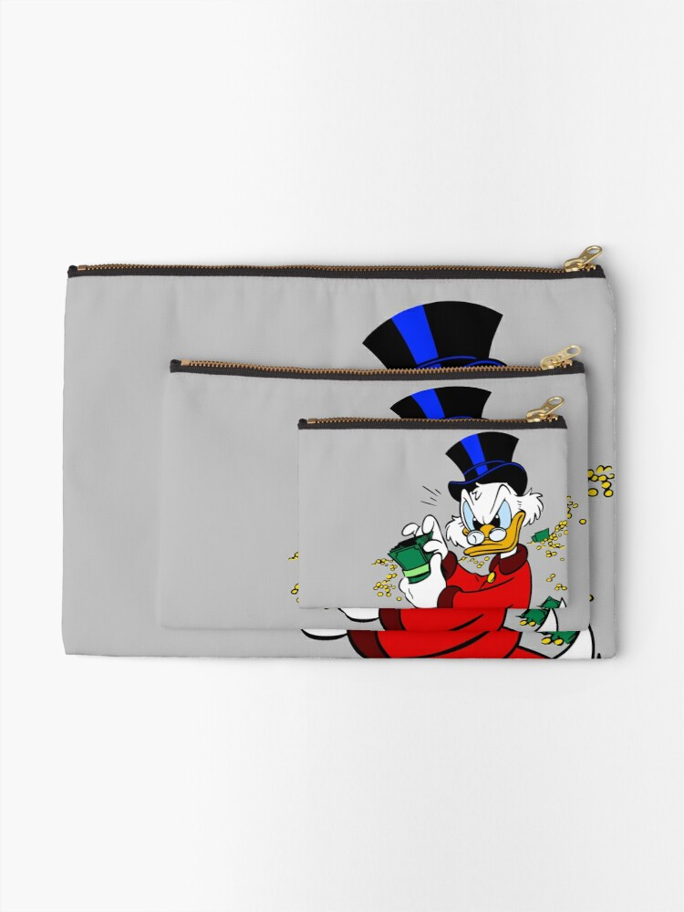 Alternate view of Scrooge McDuck Zipper Pouch