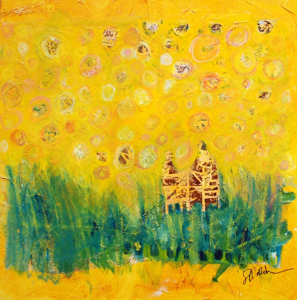 Among the Sunflowers by Sharon Welch