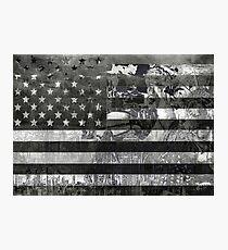 usa flag american flag 4 Photographic Print