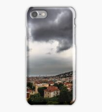 storm over the city of Trieste iPhone Case/Skin