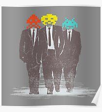 Men in Games Poster