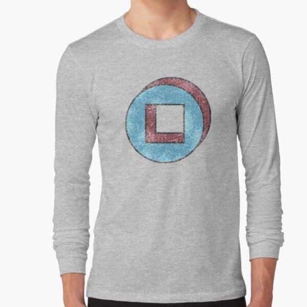 David's Shirt - Square in Cicrle (LEGION) Long Sleeve T-Shirt