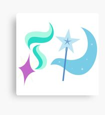 My little Pony - Starlight + Trixie Cutie Mark V2 Canvas Print