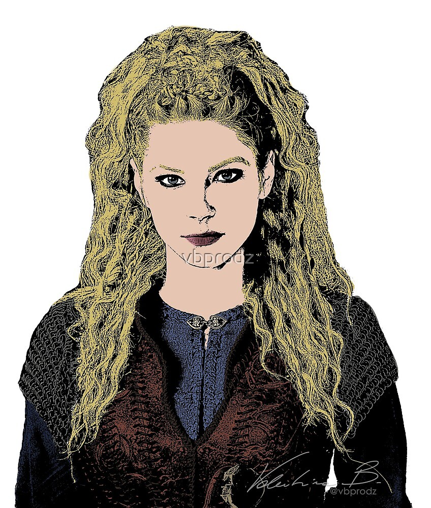 Lagertha Comic Vikings by vbprodz