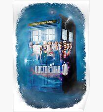 Blue Box Painting tee T-shirt / Hoodie Poster