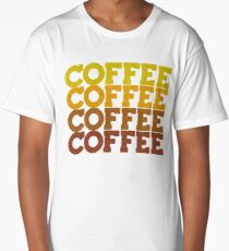 Coffee Stack - From Beans to Brew Long T-Shirt