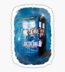 Blue Box Painting tee T-shirt / Hoodie Sticker