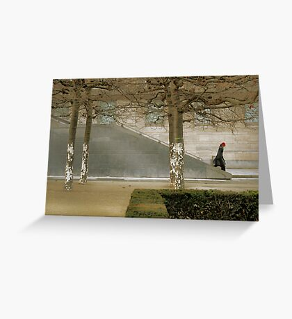 Modern Cityscape Greeting Card