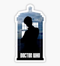 Dr. Who silhouette T-Shirt / Hoodie  Sticker