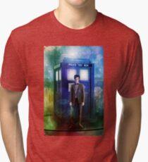 Color full T-Shirt Flue Box T Shirt Tee Tri-blend T-Shirt