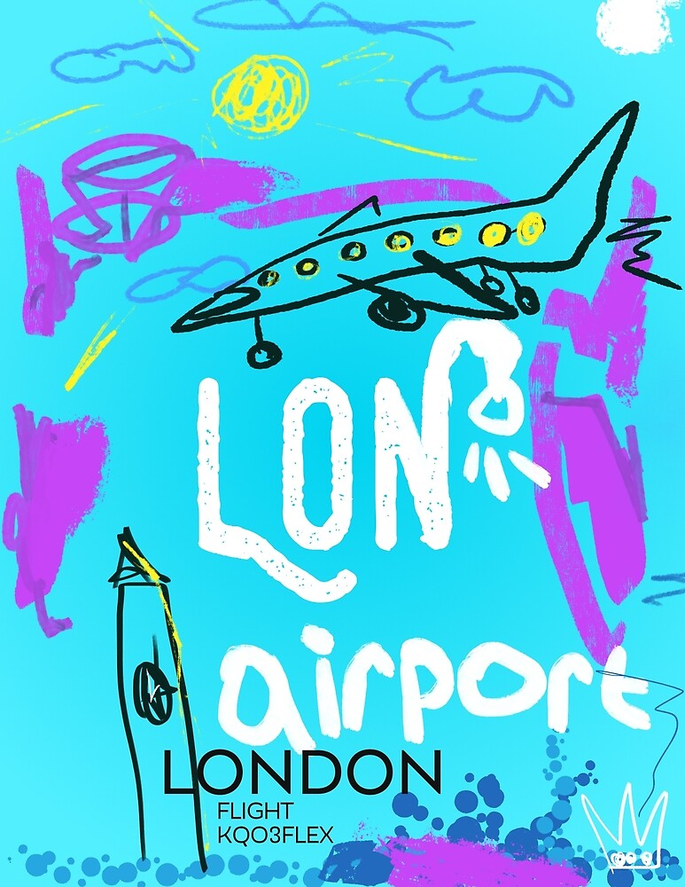 LON London airport by Airport id Stickers