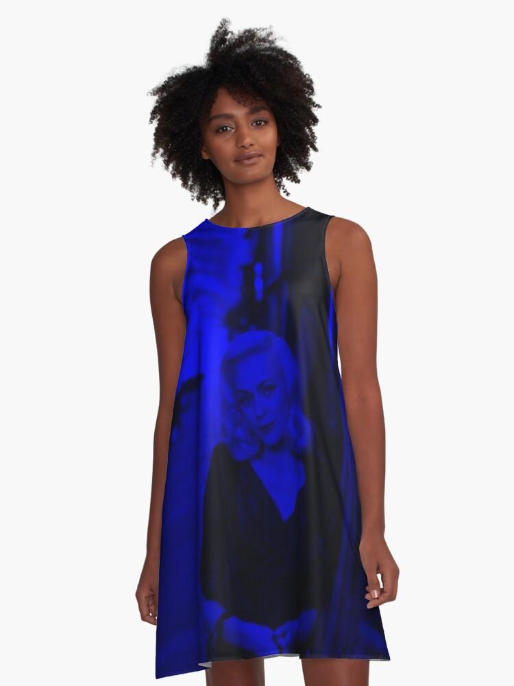 Keeley Hawes - Celebrity (Dark Fashion) A-Line Dress Front