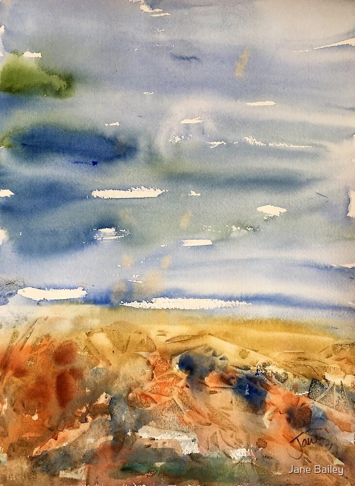 Blustery Sky by Jane Bailey