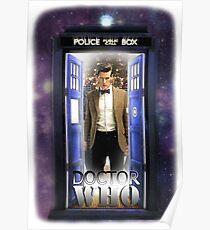 Ninth Doctor Blue Box T-Shirt / Hoodie Poster