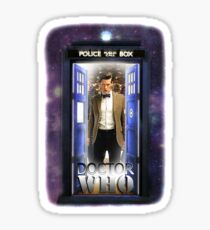 Ninth Doctor Blue Box T-Shirt / Hoodie Sticker
