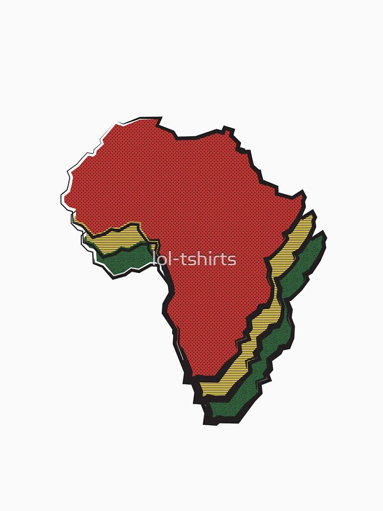 Mama Africa Motherland: Reggae Colors by lol-tshirts