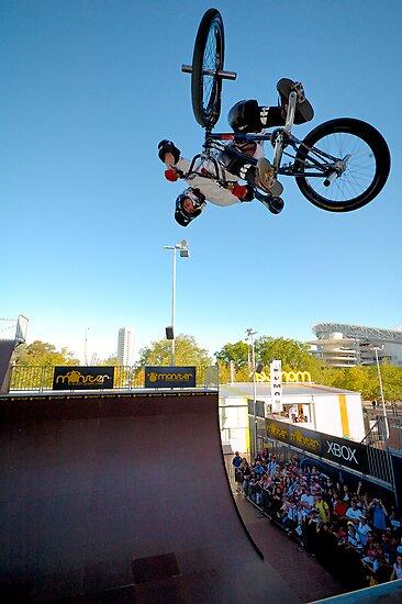 BMX at Monster by Bill Fonseca