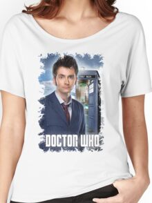 Nerdy Dr Who T-Shirt / Hoodie Women's Relaxed Fit T-Shirt