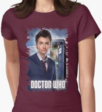 Nerdy Dr Who T-Shirt / Hoodie Womens Fitted T-Shirt