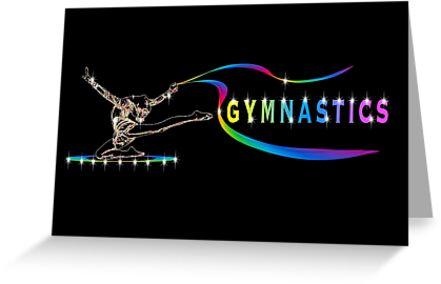 Gymnastics by wimblettdesigns